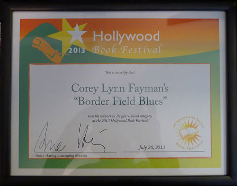 Hollywood Book Festival Award