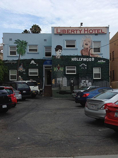 Photo of the Liberty Hotel in Hollywood California